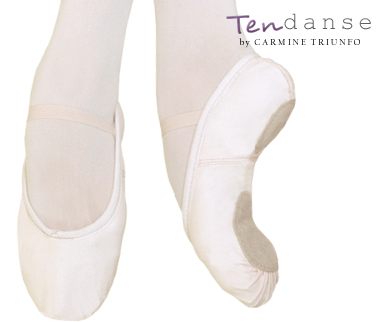 Scarpe da mezza punta per danza classica realizzate in morbidissima e  resistente tela. Queste mezze punte hanno una suola spezzata in scamosciato  con doppia ... 106cf6d48066