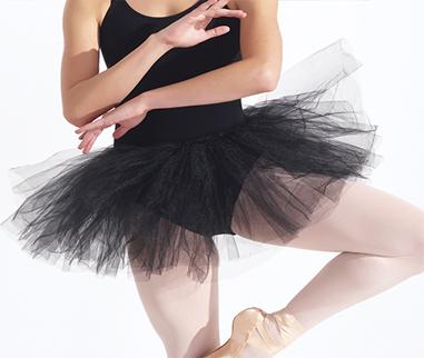 TiaoBug Donna Gonna Corta per Balletto Artistica Gonnellino da Danza Classica Tutu Ragazza Mini Gonna in Pizzo Elegante Elastico Dancewear Aderente Ginnastica Performance